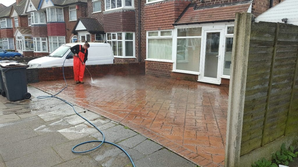 high pressure Cleaning walsall
